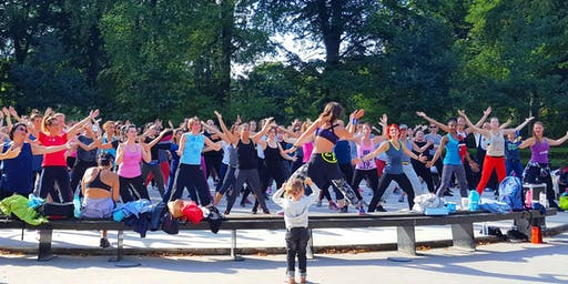 Free Open air Zumba in Fælledparken with Irina
