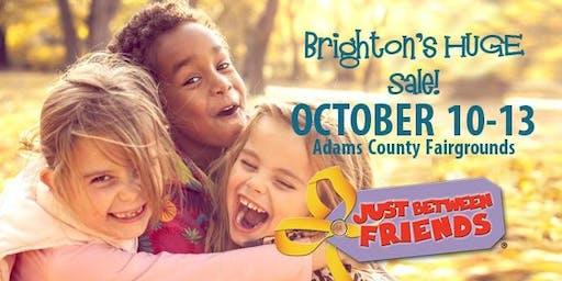 FREE ADMISSION! JBF Broomfield/BrightonFall 2019