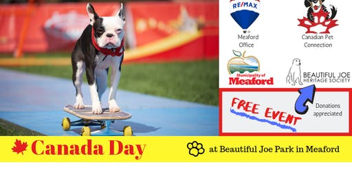 Canada Day with the Ultimutts Stunt Dogs at Old Fashioned Family Fun Day