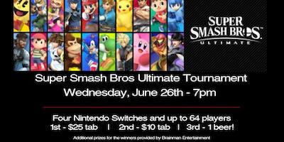 Super Smash Bros Ultimate Tournament at Right Around The Corner