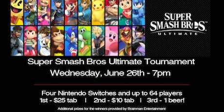 Super Smash Bros Ultimate Tournament at Right Around The Corner tickets