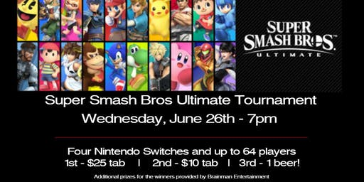 Super Smash Bros Ultimate Tournament at Right Around The Corner