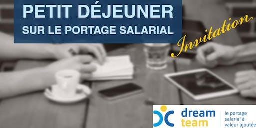 Petit déjeuner sur le portage salarial - 26 juin 2019 - Valbonne