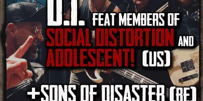 D.I. (feat members Social Distortion & Adolescents) // Sons Of Disaster