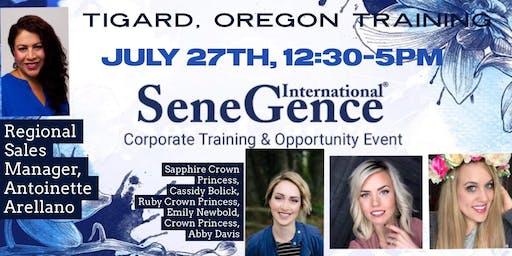 SeneGence Oregon Training