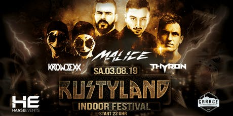RUSTYLAND INDOOR FESTIVAL - GARAGE LÜNEBURG  Tickets