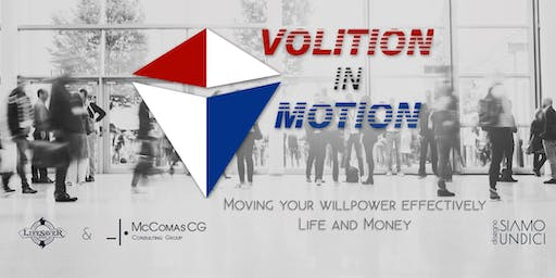 Volition in Motion: A Networking and Learning Event