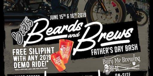 Bert's Beard & Brews - Test Rides
