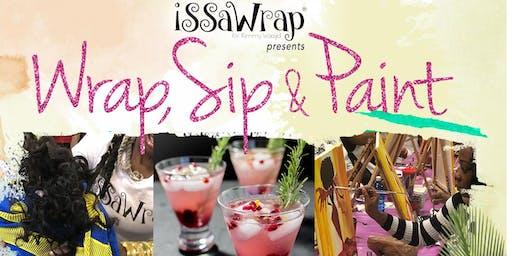 ISSaWrap presents: WRAP.SIP.PAINT