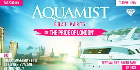 AQUAMIST (Boat Party) tickets