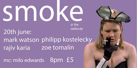Smoke Comedy featuring Tom Ward tickets