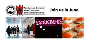 """Join us in June- """"Conversation over Cocktails at the..."""