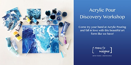 Acrylic Pour Discovery Workshop with Room To Imagine tickets