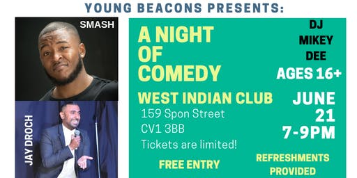 Young Beacons Comedy Night