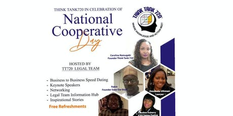 THINK TANK720: IN CELEBRATION  OF NATIONAL COOPERATIVE DAY tickets