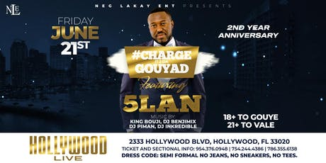 CHARGE IT 2 DA GOUYAD FEATURING 5LAN tickets