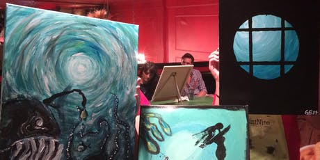 Under The Sea Paint Night at Green Bar tickets