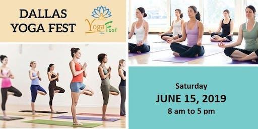 **** FREE  YOGA EVENT **** Dallas Yoga Fest, June 15, Allen