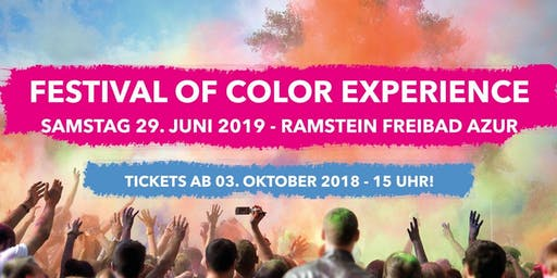 Festival of Color Experience