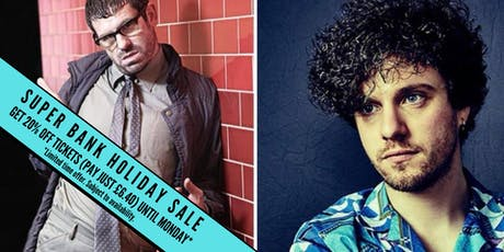 Back to Back Stand up Comedy with Angelos Epithemiou and Alfie Brown tickets