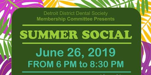 Detroit Dental Society Summer Social
