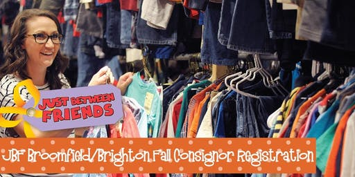 JBF BroomfieldBrighton Fall 2019 Consignor Fee