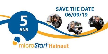 microStart: 5 années dans le Hainaut tickets