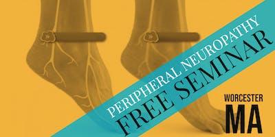 FREE Peripheral Neuropathy & Nerve Pain Breakthrough Dinner Seminar - Worcester, MA