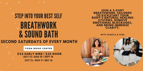 Breath Work & Sound Bath with Shanila and Gina tickets