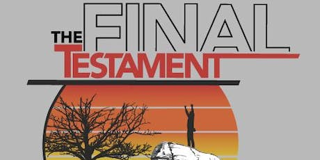 Holy Boulders: The Final Testament tickets