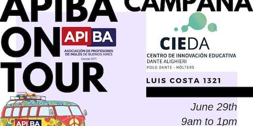 APIBA ON TOUR en Campana