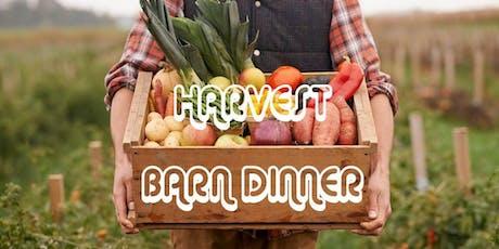 Harvest Barn Dinner tickets