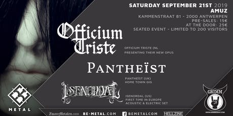 Officium Triste - CD Release Party tickets