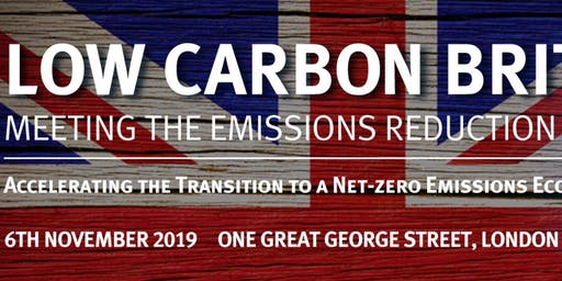 Low Carbon Britain - Meeting the Emissions Reduction Targets Conference & Exhibition 2019