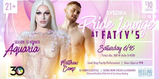 Svedka Pride Lounge at Fatty's