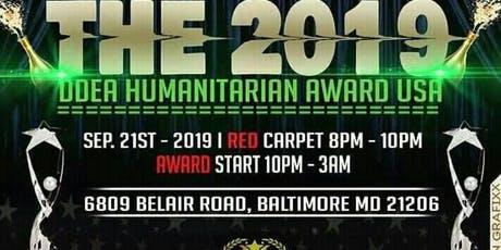 DDEA Humanitaarian Award USA tickets