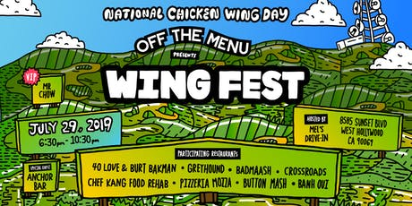 Off The Menu Presents Wing Fest tickets