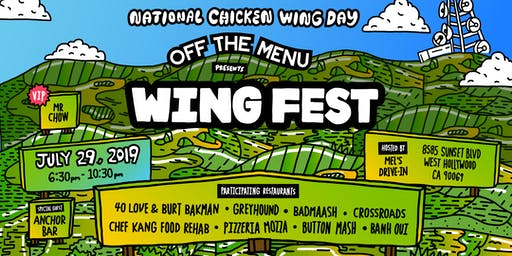 Off The Menu Presents Wing Fest
