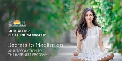 Secret to Meditation- Intro to Happiness