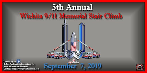 2019 Wichita 9/11 Memorial Stair Climb- THIS EVENT IS FOR FIREFIGHTERS ONLY