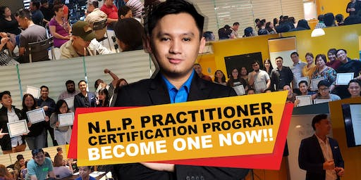 NLP Certification Program (4 whole day sessions)