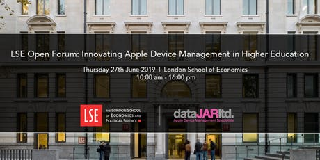 LSE Open Forum: Innovating Apple Device Management in Higher Education tickets