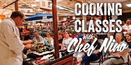 Chef Nino Cooking Demo w/ Fox10 tickets
