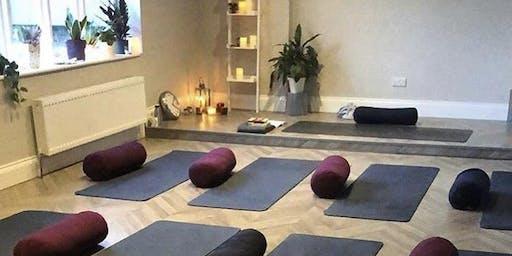 New yoga studio - gosforth