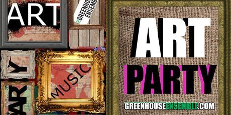 Greenhouse Ensemble's Summer Art Party tickets