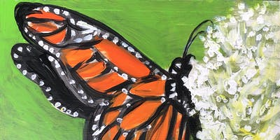 Monarch Paint Night at Green Bar