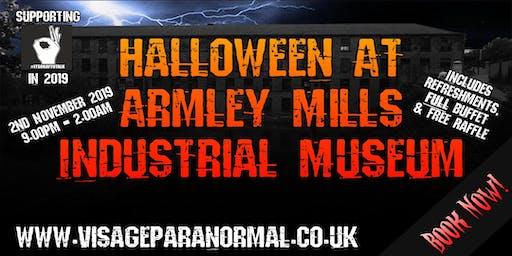 Halloween Ghost Hunt @ Armley Mills, Leeds