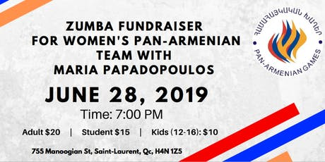 Pan Armenian Zumba Event tickets