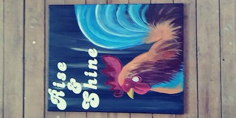Rooster Painting  tickets