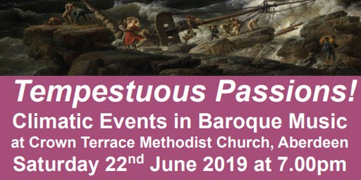 Tempestuous Passions! Climatic Events in Baroque Music